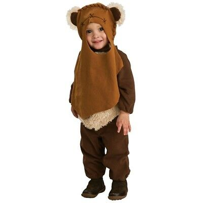 Star Wars Return of the Jedi EWOK Endor Lucas Child Toddler Costume Romper 2-4