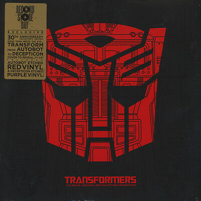 V.A. - OST The Transformers - The Movie Vinyl US LP