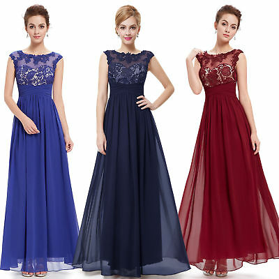 Ever Pretty Women Sleeveless Prom Party Gown Long Formal Evening Dresses 08441