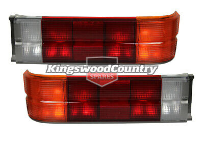 Holden VL SL Commodore Taillight PAIR Grey Left + Right Sedan executive turbo br