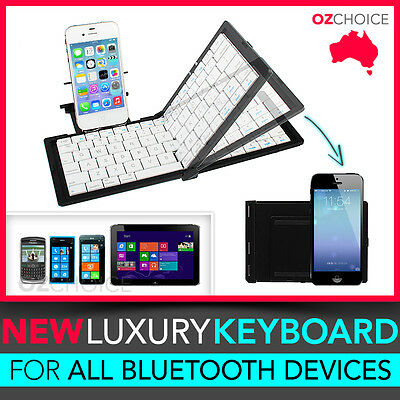 Foldable Wireless Bluetooth Pocket Keyboard iPad iPhone Samsung Galaxy Tablet