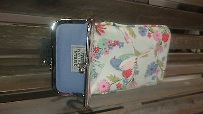 *gisela Graham Floral Bird Song Sunglasses Glasses Spectacle Case Vintage Gift*