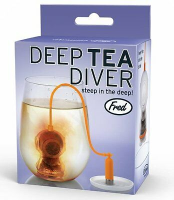 Fred DEEP TEA DIVER Tea INFUSER - Silicone SEA DIVER Loose Tea INFUSER