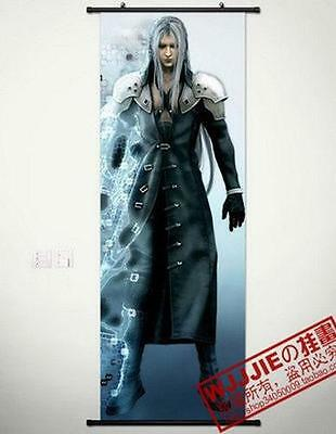 """Cosplay Home Decor Final Fantasy Poster Wall Scroll 17.7*49.2"""" C693"""