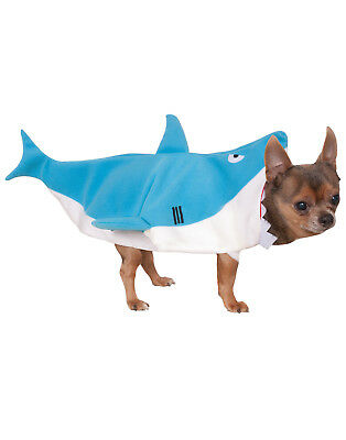 Dog Or Cat Shark Jaws Costume Funny Dress Up Pet Clothes