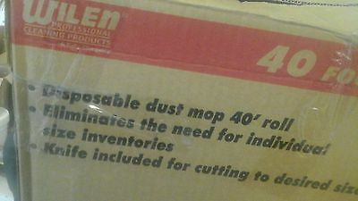 Wilen C630000, Tie-Free Roll-Out Disposable Dust Control, 40 Length Case of 1