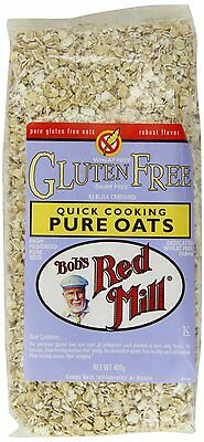 Bob's Red Mill Quick Cooking Pure Oats 400g GLUTEN, WHEAT & DAIRY FREE