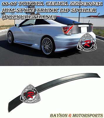 BB-Style Trunk Lip Spoiler Wing (Urethane) Fits 00-06 Toyota Celica