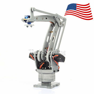 USA STOCK. Assembled 4 Axis Palletizing Robot Arm Model for Arduino UNO MEGA2560