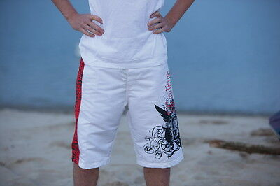 PROMO Jobe - Boardshort Revival White - Taille XS (38-US28) -Leger - confortable