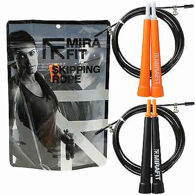Mirafit 3m Adjustable Wire Speed/Skipping/Jump Rope Fitness Training/Gym/Boxing