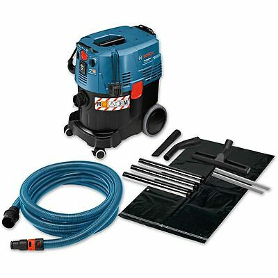 Bosch GAS 35 M AFC + Wet & Dry Extractor 230V