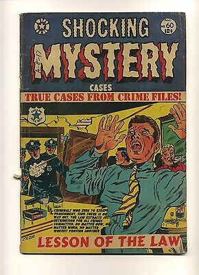 Shocking Mystery Cases 60 (FRG) Star Comics 1954 L.B. Cole cover Crime (c#04488)