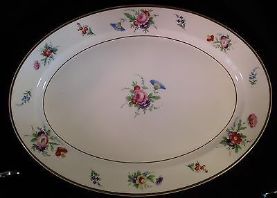 "Vintage Syracuse China OPCO Old Ivory 12"" Oval Serving Platter"