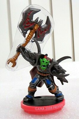 Blizzard Entertainment World of Warcraft 2008 Preview Miniature Gorebelly Horde