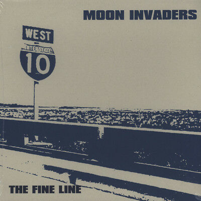 Moon Invaders - The Fine Line (Vinyl LP - 2011 - EU - Original)