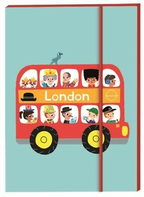 London Notebook A6: London Bus (Marion Billet's London Stationery...