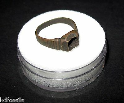 Roman Byzantine empire ring 5th century AD to fall of Byzantium 18mm #21