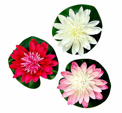 Artificial Floating Lotus Lily Pad for Aquariuims and ponds