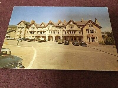 old Postcard The Fife Arms Hotel Braemar