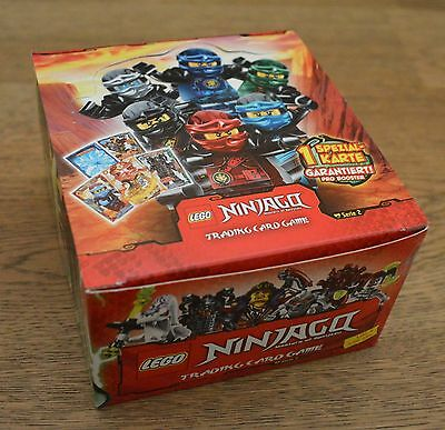 Lego® Ninjago™ Serie 2 Trading Card Game 1 Display 50 Booster - 250 Karten OVP