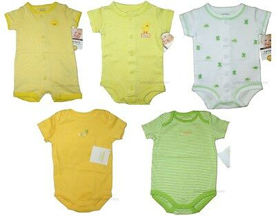 Lot Creeper Bodysuit Carters Gymboree Boys Girls Unisex NB 3-6 months Romper Top