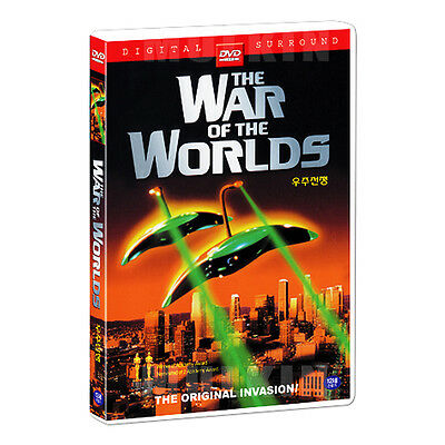 The War Of The Worlds (1953) DVD - Byron Haskin, Gene Barry (*New *All Region)