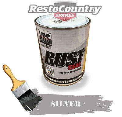 KBS RustSeal SILVER One 1 litre Rust Seal Paint Rust Preventive Coating
