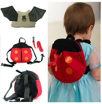 1pcs Cartoon Baby Toddler Kid Safety Harness Anti-lost Backpack Strap Keeper Bag