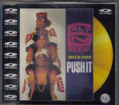 Salt N Pepa-Push It cd video maxi single