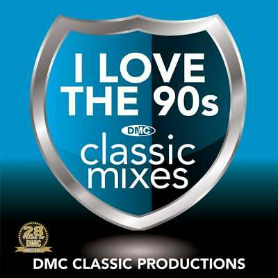 DMC Classic Mixes - I Love The 90s Megamix Music CD ft Cheese Up The Nineties