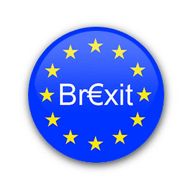 BREXIT - Political EuroZone Vote/Referendum-related - 25mm Novelty Pin Badge