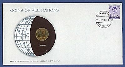 Numisbrief Coins of all Nations Thailand NB-A14/15