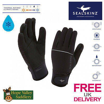 Sealskinz Womens Winter Riding Gloves -SIZE SMALL ONLY- -FREE UK DELIVERY-