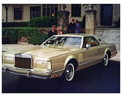 1978 Lincoln Continental Mark V Diamond Jubilee Edition Factory Photo ca4718