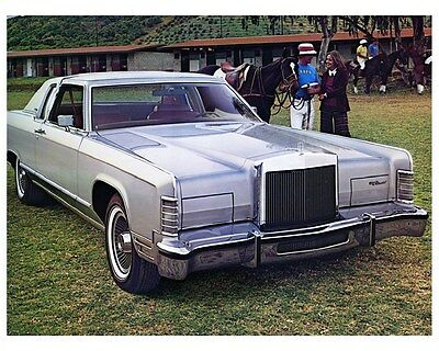 1978 Lincoln Continental Town Coupe Factory Photo ca4723