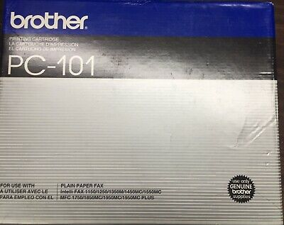 Brother PC-101 cartridge for fax machine