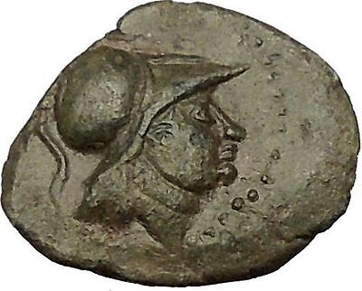 ANTIGONOS II GONATAS 277BC Pan Athena Gallic Victory Macedonia Greek Coin i54213