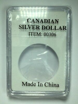 Slab Coin Holder For A Canadian Silver Dollar