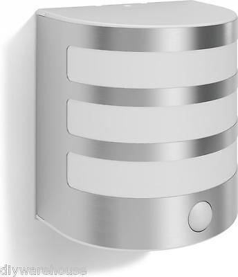 "Philips Superb Quality ""calgary"" Contemporary Wall Light Stainless Steel. Pir"
