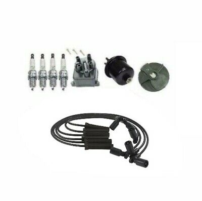 Tune Up Kit Spark Plugs & Wires w/ Filters for Honda Accord 2.2L ...