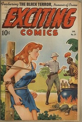 Exciting Comics #59 - FN-