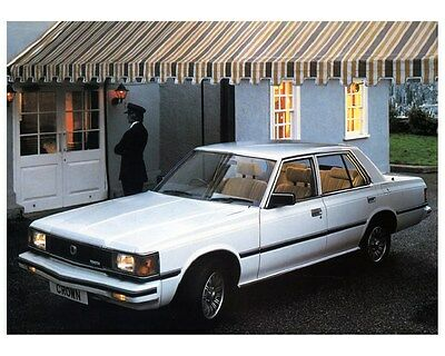 1982 Toyota Crown Super Saloon Factory Photo ca4760