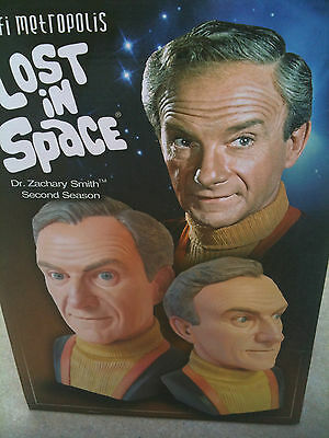 Lost in Space Dr Smith 3/4 Scale Bust / Irwin Allen B9 Doctor Jupiter 2 II
