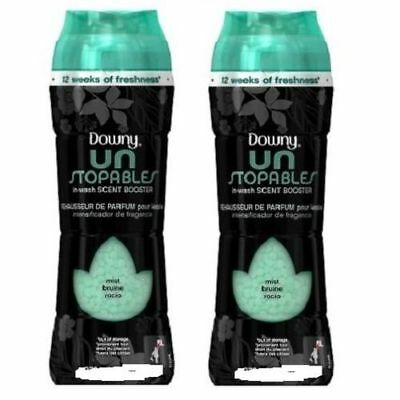Downy Unstopables In-Wash Scent Booster Mist Scent 2 Bottle Pack