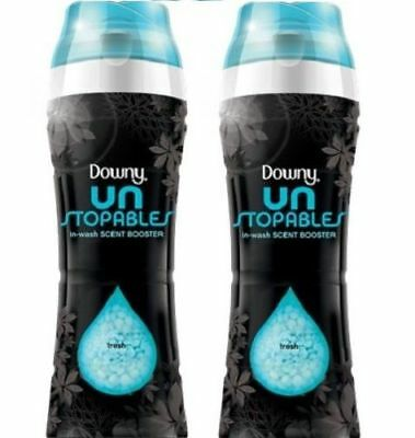 Downy Unstopables In-Wash Scent Booster Fresh Scent 2 Bottle Pack
