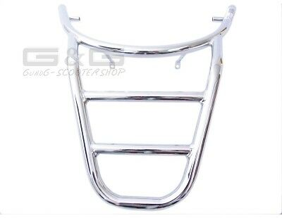 Carrier Chrome Luggage Rack Look Sym Mio 50