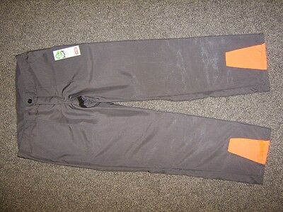 gris Pantalon anti-coupure Pantalon protecteur agréable facile All. Herst.Gr. 48