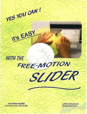 Free Motion Slider Machine Embroidery LaPierre Studio