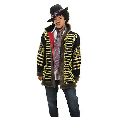 Jimi Hendrix Purple Haze Paisley Lightweight Scarf Costume Accessory